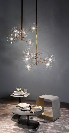 Visit the best interior lighting design projects. Home lighting design is always peculiar, at our house we want to make it as special as possible . Interior Lighting, Home Lighting, Chandelier Lighting, Modern Lighting, Lighting Design, Lighting Ideas, Unique Chandelier, Modern Lamps, Globe Chandelier