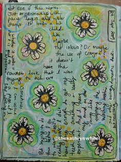 Art Journal - Flowers