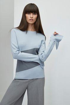Sweater - Trousers - Women clothing - Fall/Winter Season - Adolfo Domínguez