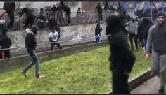Feral Muslim Migrants Shout 'Allah Akbar', Attack Police In France (VIDEOS)  Cristina Laila Feb 11th, 2017