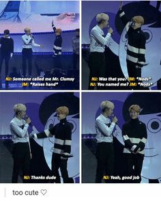 Awwww Jimin's face in the last pic goodbye world