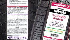 Étiquettes pour pneus - Les fabricants de pneus se doivent, eux aussi, d'étiqueter correctement leurs produits. Pour leur permettre d'internaliser le processus, http://www.quicklabel.fr/ leur propose des imprimantes professionnelles de grande qualité.