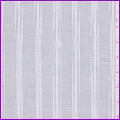 White Stripe Lawn #25850