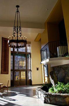The Solarium at the Ahwahnee Hotel