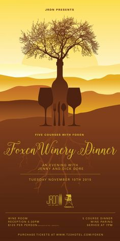FOXEN Wine Dinner @ JRDN  - Syndical - http://syndical.com/blog/foxen-wine-dinner-jrdn-syndical-2/