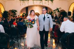 Coordinator: Orange Blossom Special Events | Venue: Ebell Long Beach | Photography: Fitz Carlile Weddings | Florals: The Little Branch | Rentals: Coast Party Rentals | Catering: Tres LA Catering | DJ: DJ Tos | Wedding Cake: Rossmoor Pastries | Officiant: Great Officiants
