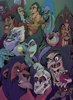 The Heroes of Disney by JeffyP