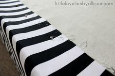 tutorial: easy DIY bed skirt.  Gotta love a good cheater version!