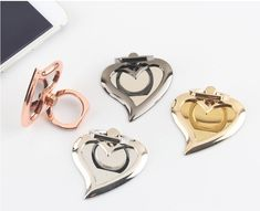 iPhone Ring Stand W/ Mirror Ring Stand - Samsung Ring Holder - iPhone Ring Case - iPhone Ring Case, Finger Ring - Phone Holder - Metal by PetrichorCases on Etsy Ring Stand, Ring Finger, Phone Holder, New Product, Phone Accessories, Heart Ring, Smartphone, Iphone Cases, Samsung