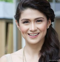 Carla Angeline Reyes Abellana (born June 1986 in Manila, Philippines) is a Filipina actress and commercial model who played the lead r. Beauty Tips For Hair, Beauty Make Up, Beauty Hacks, Hair Beauty, Filipina Actress, Filipina Beauty, Marian Rivera, Philippine Women, Famous Celebrities