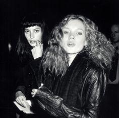 Christy Turlington & Kate Moss - 1993
