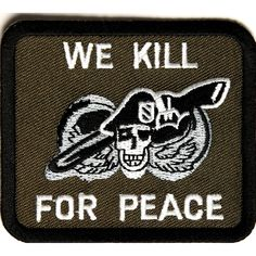 Shop embroidered military and veteran iron on patches. Military patches and veteran morale iron on patches for vests, biker jackets and clothes. Biker Patches, Sew On Patches, Iron On Patches, Skull Patches, Patch Design, American Pride, Green Fabric, Peace, Sewing