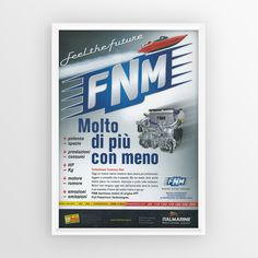 """Advertising FNM """"Molto di più con meno"""""""