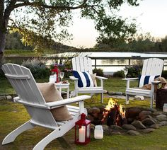 Pottery Barn Outdoor Layout...Love!