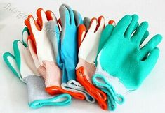 New 5 Pair BBH Gardening Gloves Latex Foam Coating Polyester Liner Free Shipping #deals #discounts Gardening Gloves, Gardening Supplies, Latex, Pairs, Free Shipping, Garden Supplies