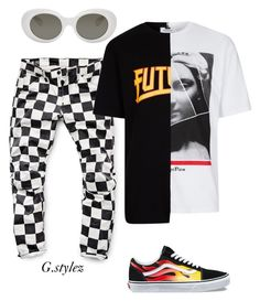 """""""Untitled #224"""" by flyvibez ❤ liked on Polyvore featuring Vans, G-Star Raw, Topman and Acne Studios"""
