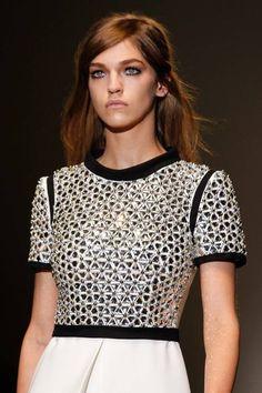 Gucci Ralph Fashion Week New York Fall / Winter 2014/15. #rtw #dress #gucci