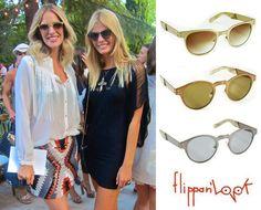 La modelo y blogger de Telva Teresa Baca luce con mucho estilo sus Flippan'Sun