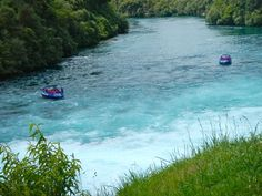 Huka Falls, The Bluest Water You Have EVER Seen. Here is some travel motivation / Inspiration for you!