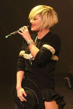 Rita Ora haircut