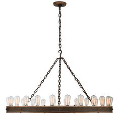 """ROARK 50"""" MODULAR RING CHANDELIERcirca lighting comes in various sizes and finishes"""