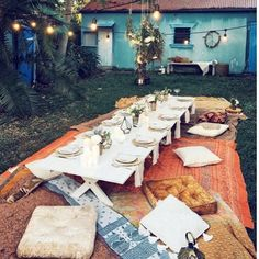 """Our kind of dinner party.  Let's get wild, by wild we mean this. Tag your simple boho besties."" by @auraavenue. #ganpatibappamorya #dilsedesi #aboutlastnight #whatiwore #ganpati #ganeshutsav #ganpatibappa #indianfestival #celebrations #happiness #festivalfashion #festivalstyle #lookbook #pinksuit #anarkali #festivaloutfit #desigirl #nehamalik #model #actor #blogger #instagood #instadaily #instalike #follow #indiangirl #indianfashion #indianbeauty #instalovemakeup #love #me #smile #cute…"