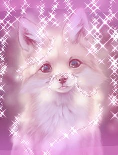 Their is an original drawing if this fox I don't know the name of the artist but all I did was edit it this is not my drawing Cute Galaxy Wallpaper, Cute Cat Wallpaper, Cute Wallpaper Backgrounds, Animal Wallpaper, Cute Cartoon Wallpapers, Cute Patterns Wallpaper, Cute Fox Drawing, Cute Animal Drawings Kawaii, Cute Cartoon Animals