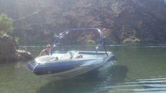 Mike doing a boat check