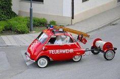 BMW Isetta Feuerwehr * J'adore le mini camion de pompier