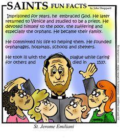 St. Jerome Emiliani Fun Fact