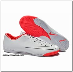 quality design 0c034 64117 (White Black Red) X IC Boots Nike Mercurial Victory Cheap Soccer Shoes