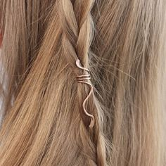 Image result for metal wire hair braid