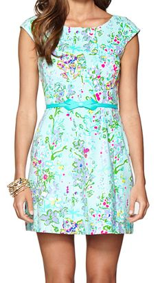 Pretty fit & flare dress in #turquoise http://rstyle.me/n/fhn3ynyg6