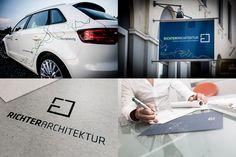 RICHTER ARCHITEKTUR | Logo Design, Corporate Design, Webdesign, Print by Big Pen