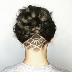 tatuagem em undercut  3                                                                                                                                                     Mais