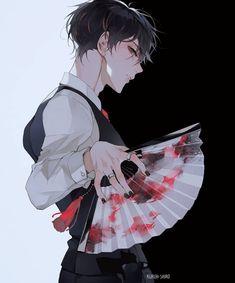 anime guys with curly hair . anime guys in tuxedos . Anime Boys, Dark Anime Guys, Cool Anime Guys, Handsome Anime Guys, Chica Anime Manga, Dark Anime Art, Garçon Anime Hot, Anime Sexy, Badass Anime