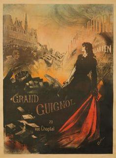Grand Guignol / L'Ami de l'Ordre. 1898  DILLON