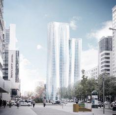 Warsaw Office Tower Allmann Sattler Wappner 2011 #highrise #office http://rdt.ac/e626