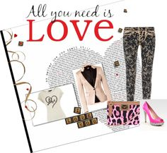 """""""love"""" by mandeeelle on Polyvore"""