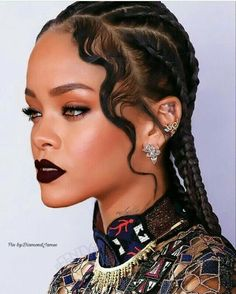 Rihanna eye makeup #slaymakeup