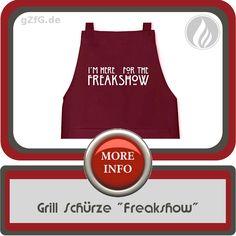 Grill Schürze Freakshow