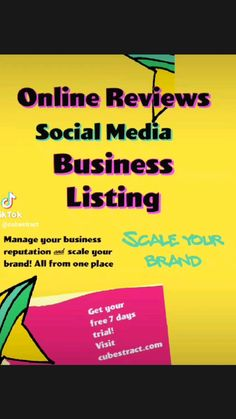 Online Reviews, Build Your Brand, Trials, Social Media, Business, Free, Store, Social Networks, Business Illustration
