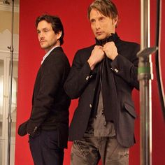 Hugh Dancy & Mads Mikkelsen / Hannibal - My TWO babes <3