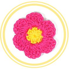 Flor de Siete Pétalos a Crochet #2 | PATRONES VALHALLA // Patrones gratis de ganchillo