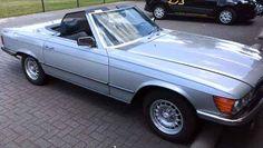 Mercedes-Benz 450 SL gestolen in Klazienaveen