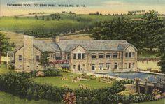 wheeling park old swimming pool wv | Swimming Pool, Oglelbay Park Wheeling West Virginia