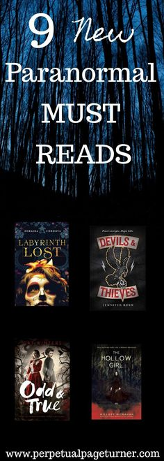 Like paranormal books? Check out these 9 new paranormal books to read!
