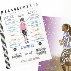 So excited to share my newest squad submission project which is live on @the_happy_planner page now! . . November is a month of new beginnings for me, I've been inspired by so many people in this amazing community of planner babes and I'm ready to FOCUS ON ME so I decided to finally setup my fitness planner and routine. I'm not going to wait for 2019 to start making things happen, I'm going to push forward now because #WhyWait right 🤷🏽‍♀️ so I created a measurement chart using @...