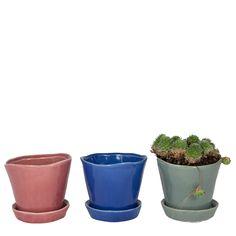 Little Pots - set of 3