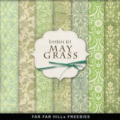 Far Far Hill - Free database of digital illustrations and papers: Freebies Kit - May Grass Free Digital Scrapbooking, Digital Scrapbook Paper, Digital Paper Freebie, Scrapbook Cards, Stock Image, Printable Paper, Free Prints, Free Paper, Digital Pattern